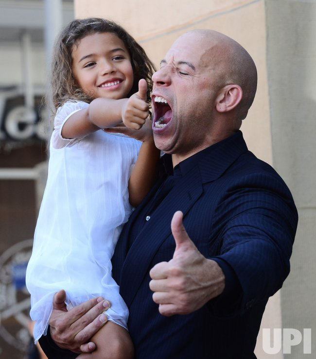 Vin Diesel receives star on Hollywood Walk of Fame in Los Angeles