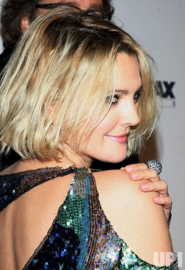 "Drew Barrymore attends ""Everybody's Fine"" premiere held in New York"