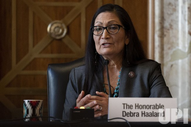 Rep. Deb Haaland Confirmation Hearing for Interior Secretary