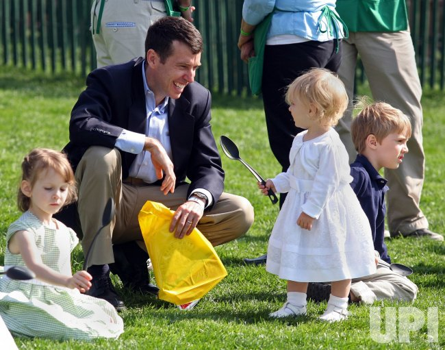 President Obama hosts White House Easter Egg Roll in Washington