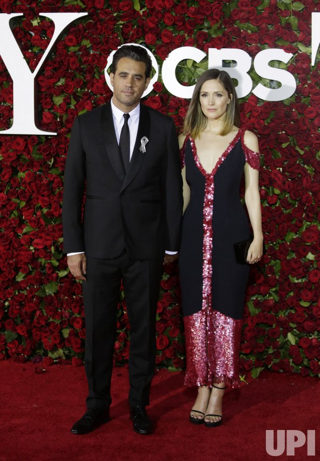 Rose Byrne at the 70th Annual Tony Awards