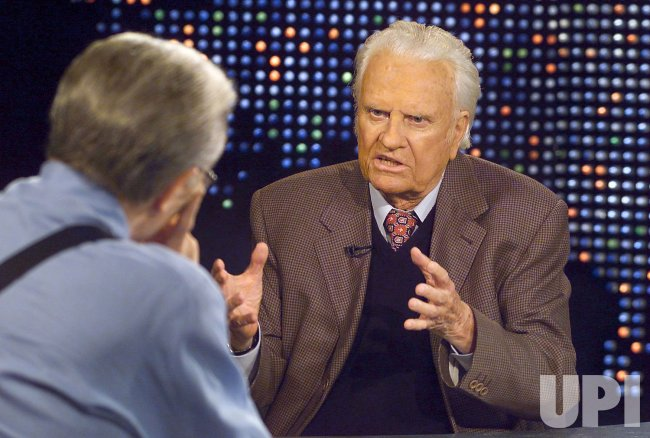 LARRY KING INTERVIEWS BILLY GRAHAM