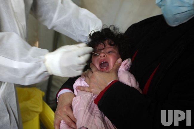 COVID-19 testing in Gaza
