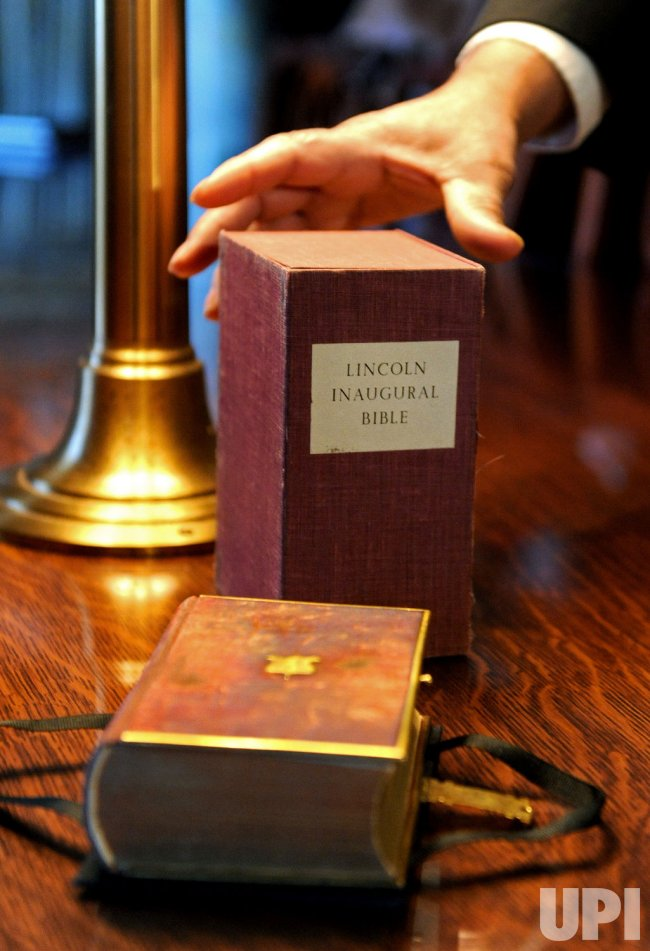President Elect Obama To Be Sworn In Using The Lincoln Bible