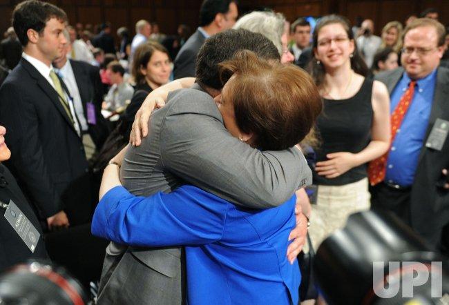 Confirmation hearing begins for Supreme Court nominee Elena Kagan in Washington