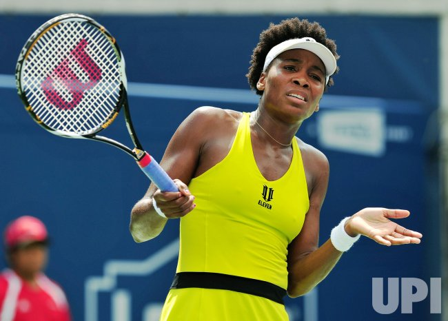 Venus Williams loses in second round of Rogers Cup Toronto