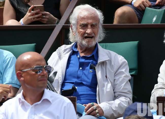 Jean Paul Belmondo at the French Open
