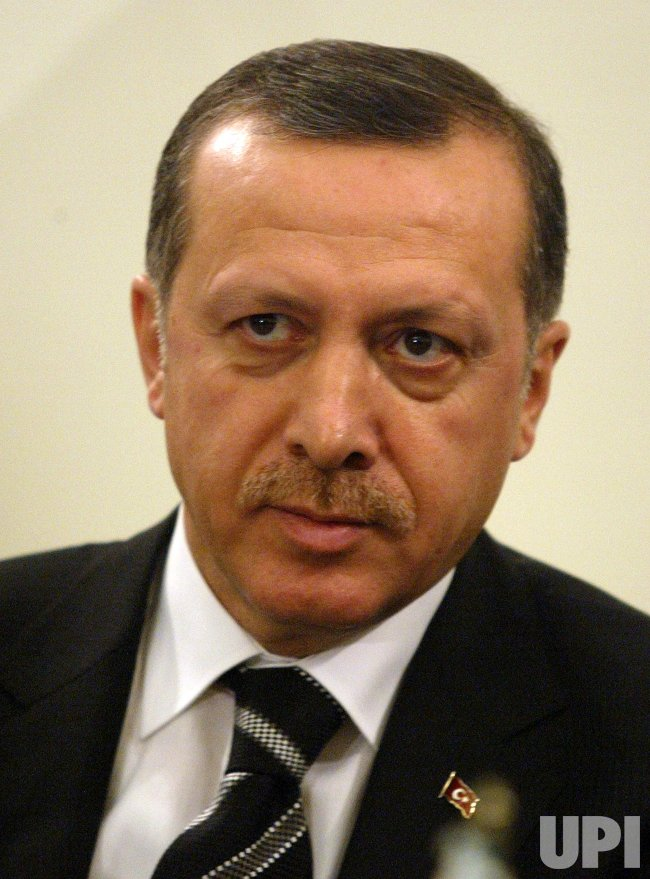 TURKISH PRIME MINISTER ERDOGAN ARRIVES TO IRAN