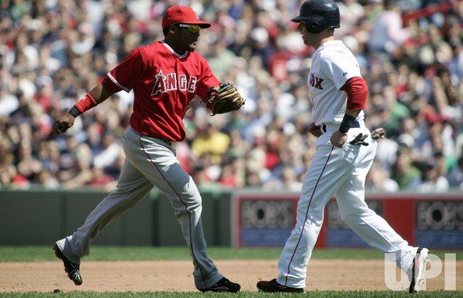 Los Angeles Angels vs Boston Red Sox
