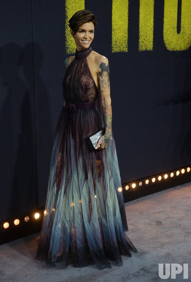 "Ruby Rose attends the ""Pitch Perfect 3"" premiere in Los Angeles"