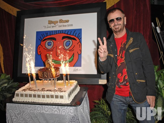 Ringo Starr performs in concert in Hollywood, Florida