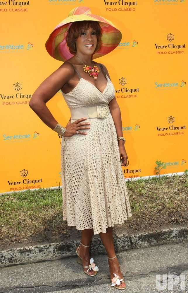 Gayle King attends the Veuve Clicquot Polo Classic match in New York