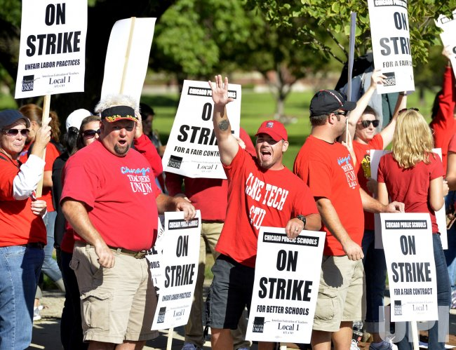 Teachers Strike in Chicago
