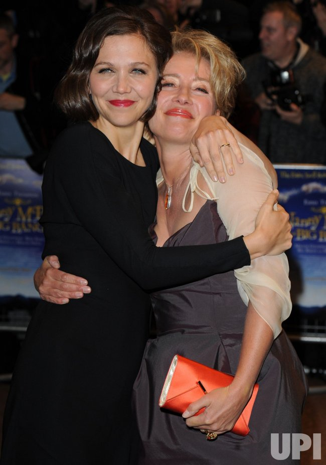 "Maggie Gyllenhaal and Emma Thompson attend ""Nanny McPhee And The Big Bang"" premiere"