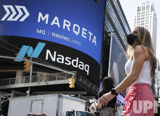Marqeta, Inc. IPO Ring Nasdaq Stock Market Opening Bell