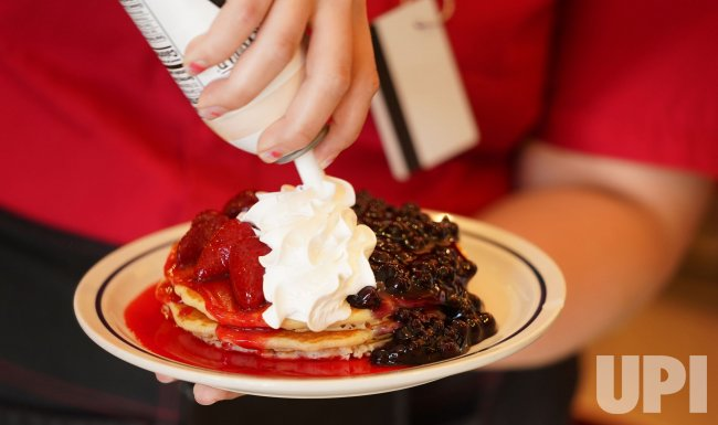 Red, White And Blue Pancakes For Veterans Day in Missouri