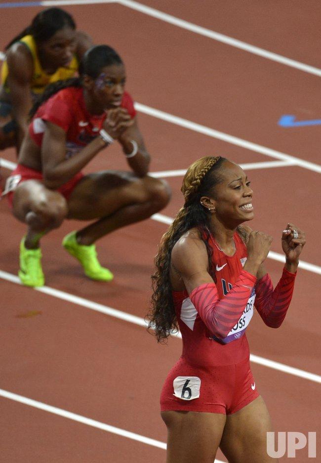 American Sanya Richards-Ross wins women's 400m final at 2012 Summer Olympics in London
