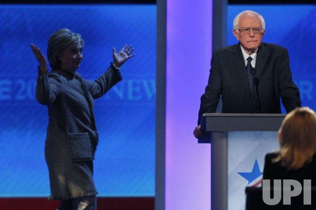 Democratic Presidential Debate in New Hampshire