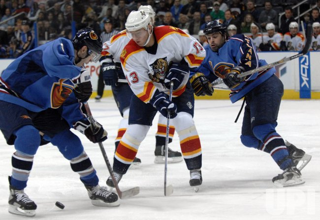 ATLANTA THRASHERS VS FLORIDA PANTHERS