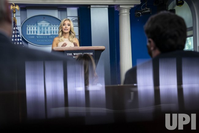 Kayleigh McEnany Holds White House Briefing