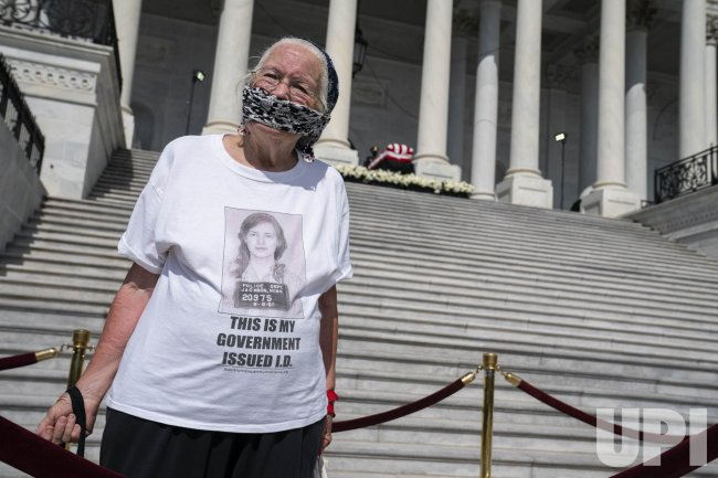 John Lewis Lies in State at U.S. Capitol