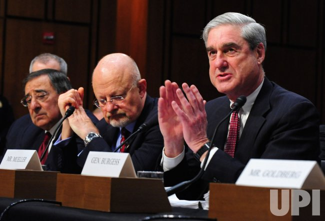 CIA Director Leon Panetta, Director of National Intelligence James Clapper and FBI Director Robert Mueller testify in Washington