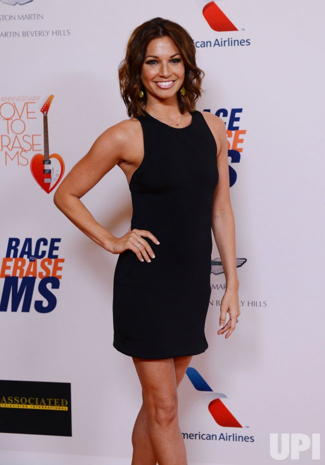 TV Personality Melissa Rycroft-Strickland attend the 20th annual Race to Erase MS gala in Los Angeles