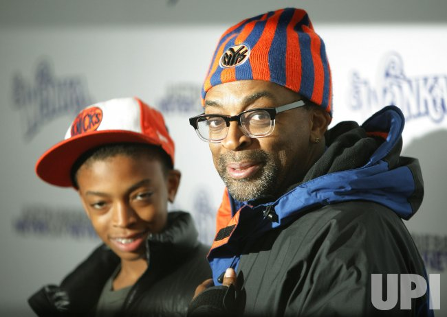 "Spike Lee attends the screening of ""Justin Bieber: Never Say Never"" in New York"