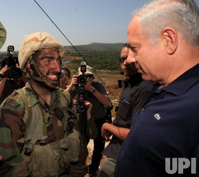 Israeli PM Netanyahu observes military exercise in Israel
