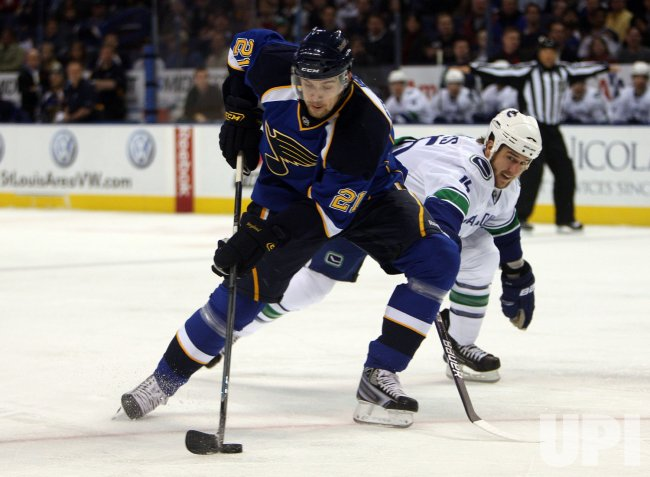 St. Louis Blues Patrik Berglund