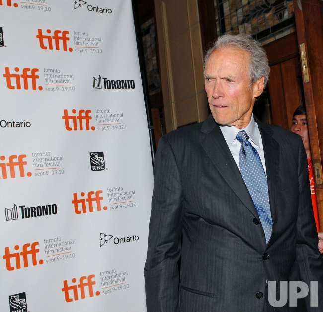 Clint Eastwood attends 'Hereafter' premiere at the Toronto International Film Festival