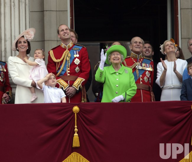 Trooping the Colour to celebrate the Queen's 90th birthday