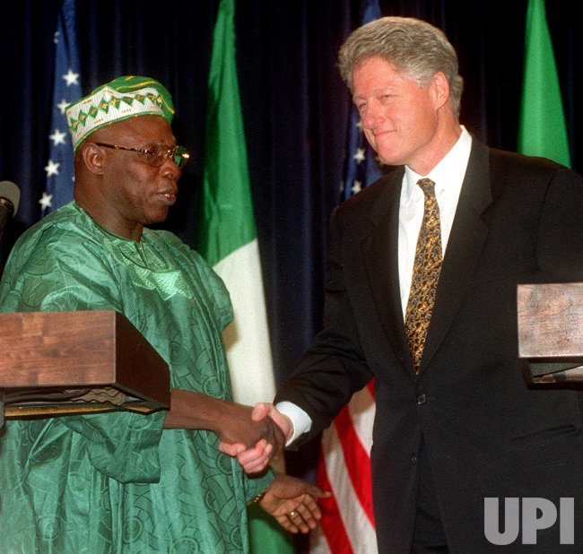 Nigerian President visits White House