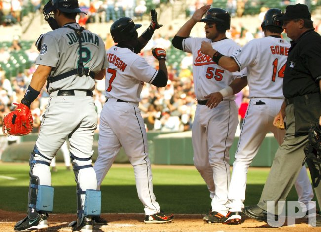 SEATTLE MARINERS AT BALTIMORE ORIOLES