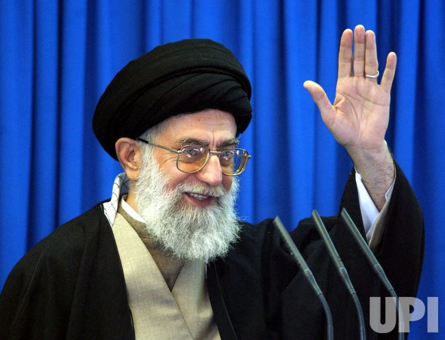 AYATOLLAH ALI KHAMENEI OF IRAN