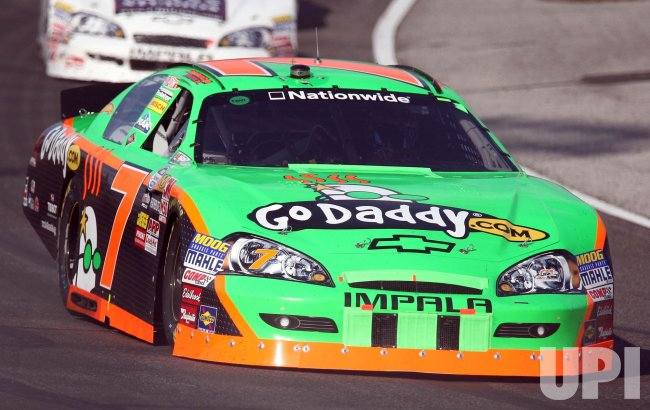 Danica Patrick in the 5-hour Energy 250 NASCAR Race in Illinois