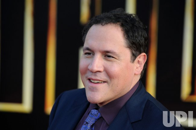 "Jon Favreau attends the ""Iron Man 2"" premiere in Los Angeles"