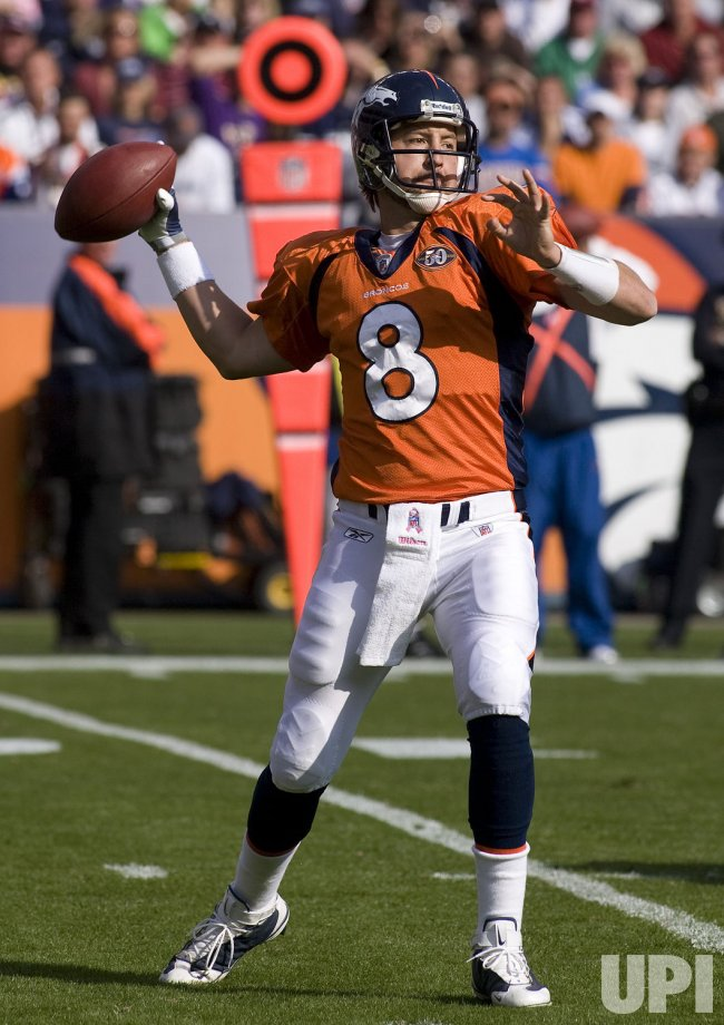 Broncos Orton Throws Against Cowboys in Denver