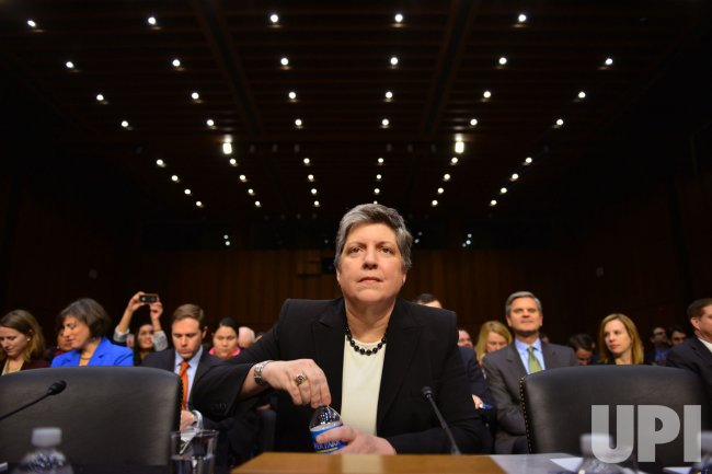 Secretary Janet Napolitano testifies on Immigration Reform in Washington