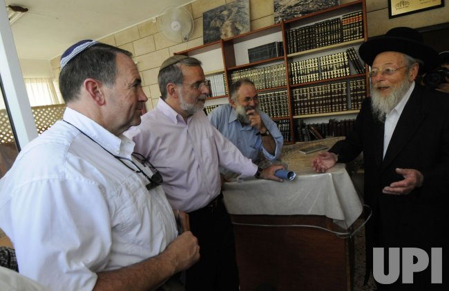 Former Arkansas Governor Mike Huckabee visits Jerusalem