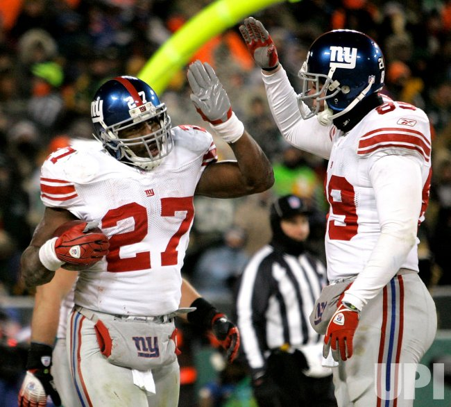 NFC Championship New York Giants vs Green Bay Packers