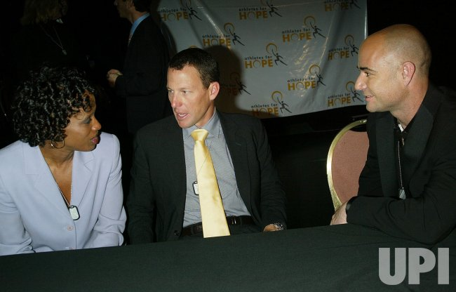 ATHLETES FOR HOPE PRESS CONFERENCE IN NEW YORK
