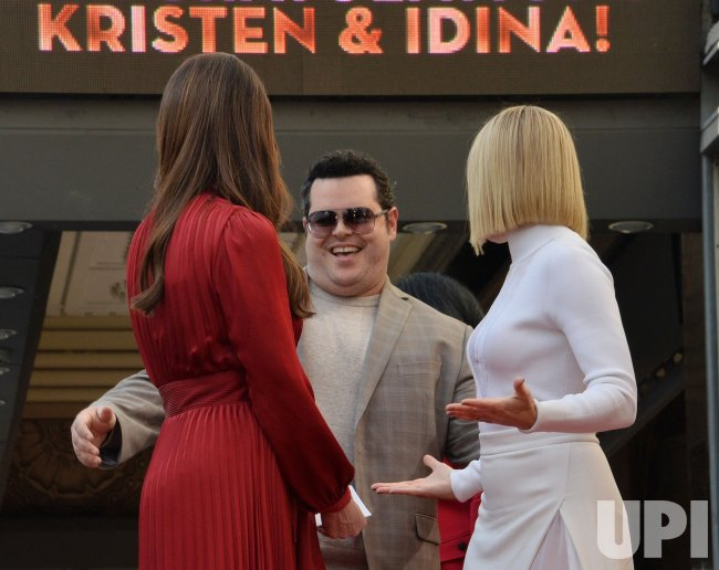Kristen Bell and Idina Menzel honored in double Hollywood Walk of Fame ceremony