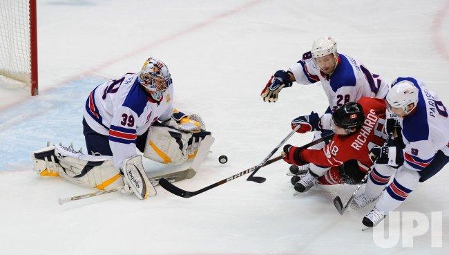 USA vs. Canada Men's Ice Hockey at 2010 Winter Olympics in Vancouver