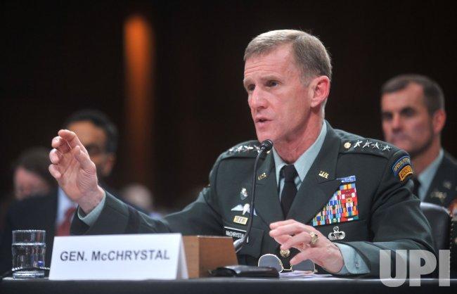 Gen. Stanley McChrystal testifies in Washington