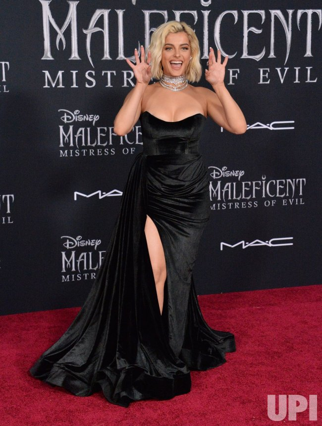 Bebe Rexha Attends Maleficent Mistress Of Evil Premiere