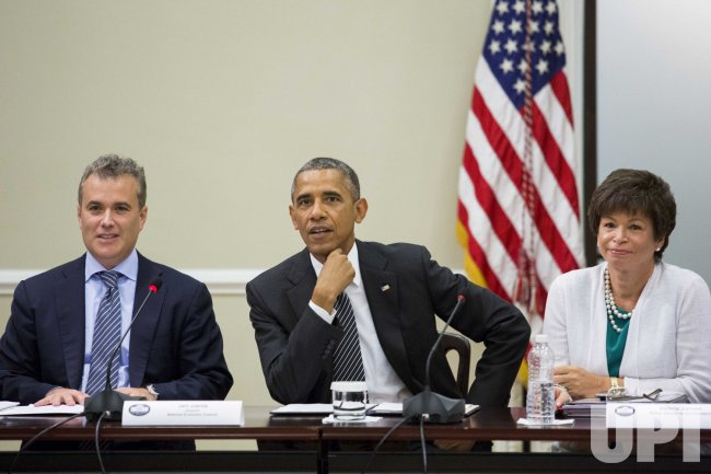 President Obama Meets With Company Executives and Small Business Suppliers