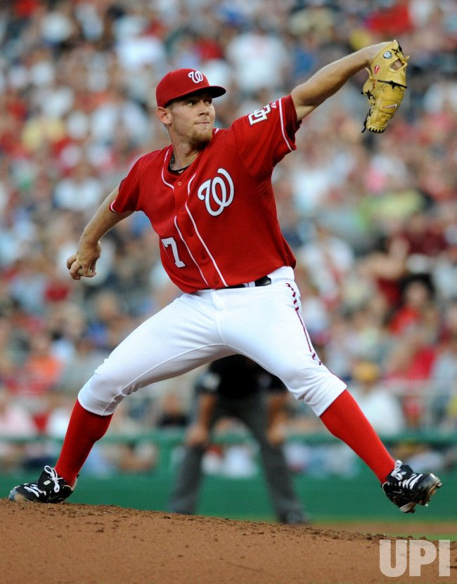 Nationals Stephen Strasburg set MLB Strikeout Record