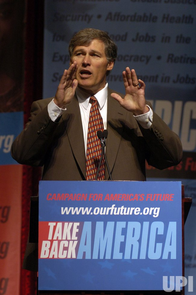 JAY INSLEE SPEAKS AT TAKE BACK AMERICA CONFERENCE