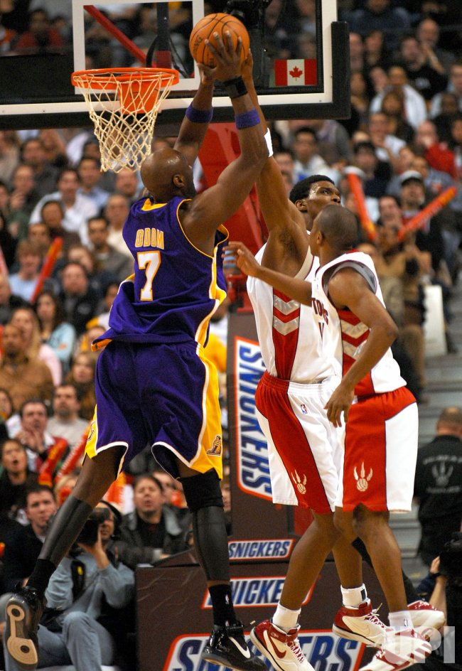 TORONTO RAPTORS VS LOS ANGELES LAKERS